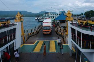 The ferry we took to Ketapang ferry terminal for Bromo