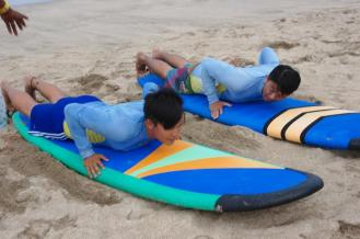 Surfing lesson 101
