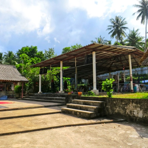 Island Muay Thai training ground.