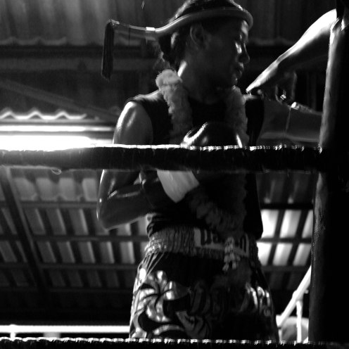 Female fighter from Island Muay Thai