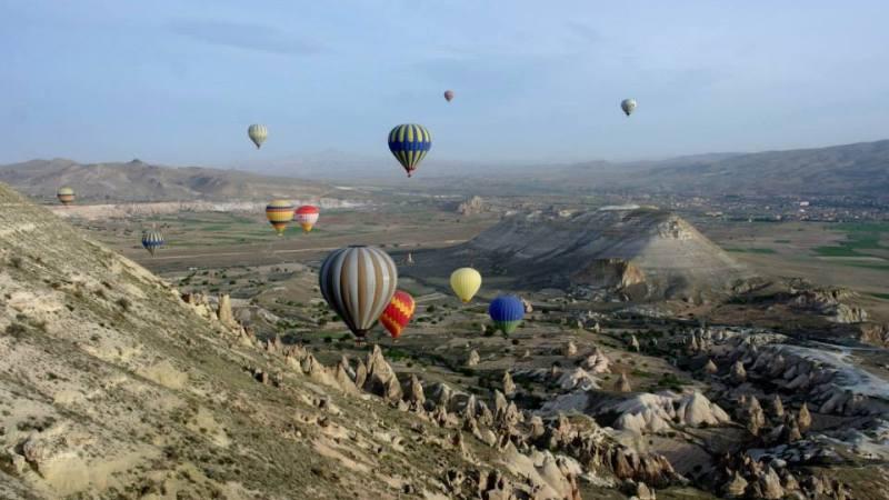 Cappadocia From TheSky