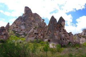 Uchisar Castle - The highest point in Goreme