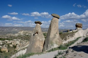 The famous family of Fairy Chimneys