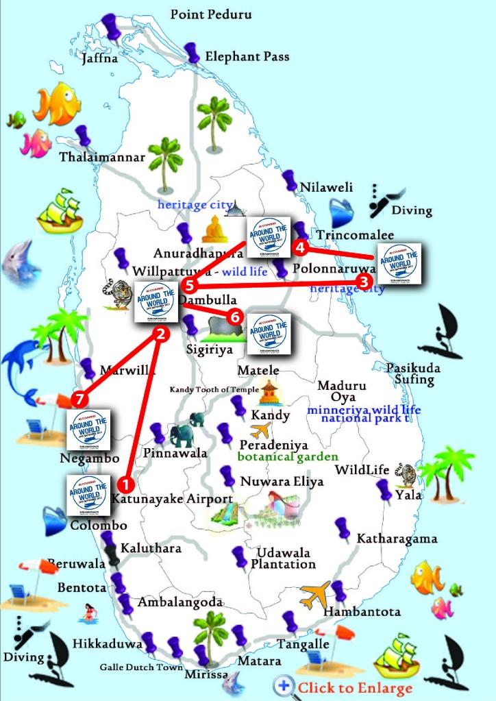5D4N route