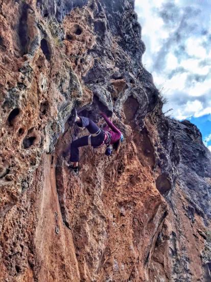 Rockclimbing In Queuñas,Peru